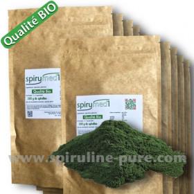 Spiruline bio  -  10kg poudre de spiruline pure qualité bio pour revendeur